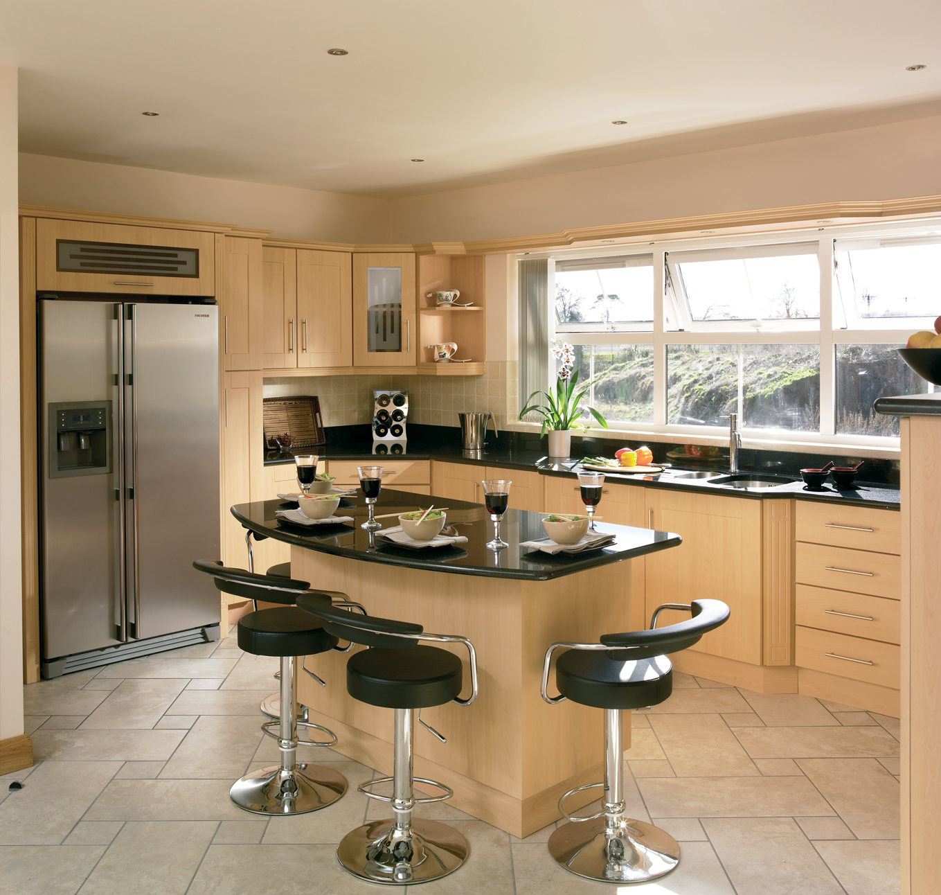 fitted kitchens ireland cologne beech fitted kitchens ireland