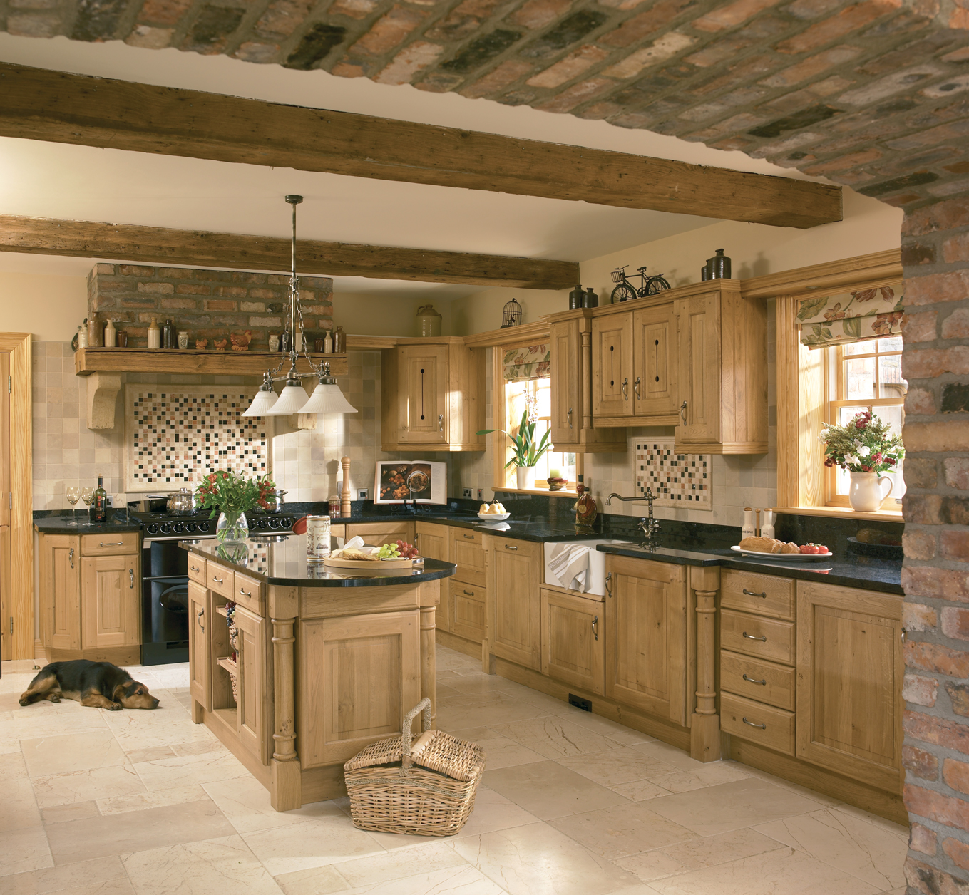 Oak Cabinet Kitchen Ideas Top Medium Oak Kitchen Cabinets: Castleshane Kitchens