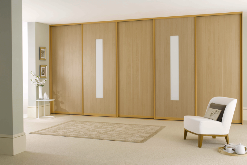 Castleshane kitchens slide robes for Sliding bedroom doors